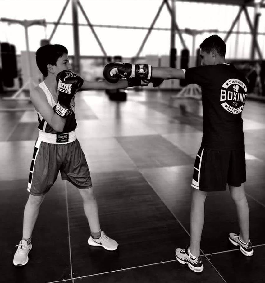 Boxe éducative Assaut
