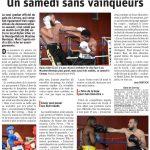 Gala de boxe pro à Cernay – 2 combats