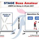 Stage Boxe Amateur du 26 juin 2021